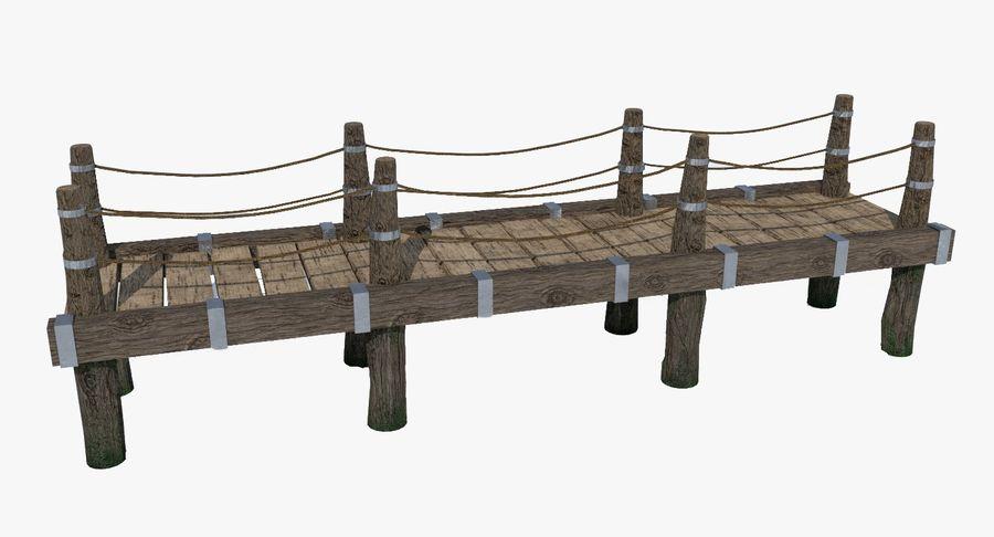 Ponte di Legno royalty-free 3d model - Preview no. 2