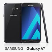 Samsung Galaxy A7 (2017) 3d model