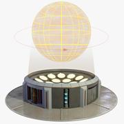 hologram projector 3d model