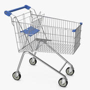 Carrello del supermercato 3d model