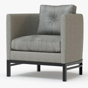 Domicile Lounge Chair 3d model