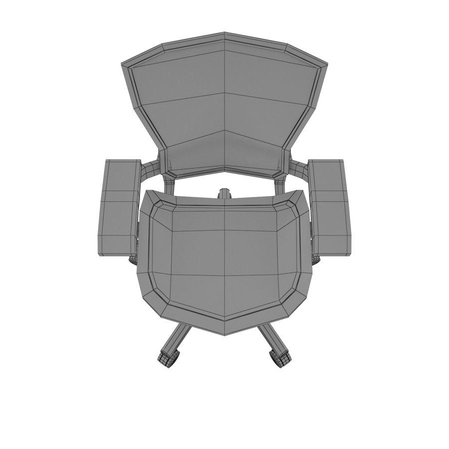 Herman Miller Aeron Chaise de bureau royalty-free 3d model - Preview no. 10