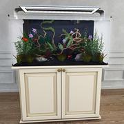 Аквариумное растение 3d model