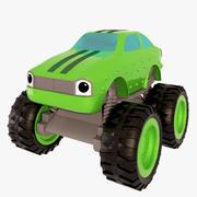 Samochód zabawka 3d model