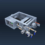 Luftkonditioneringssystem 3d model