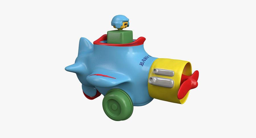 Brinquedo avião royalty-free 3d model - Preview no. 2