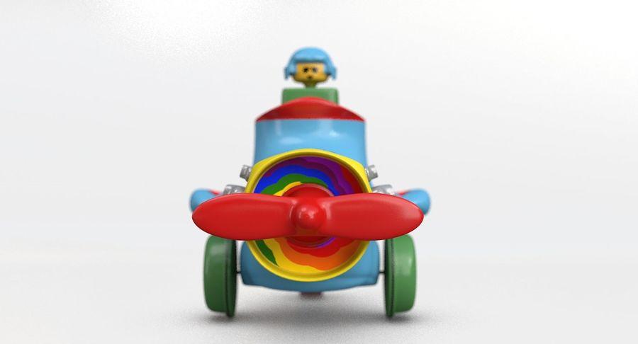 Brinquedo avião royalty-free 3d model - Preview no. 9