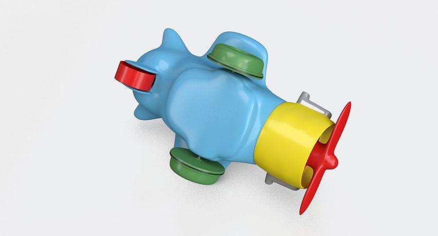Brinquedo avião royalty-free 3d model - Preview no. 7