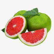 Grapefruit (Green 2) 3d model