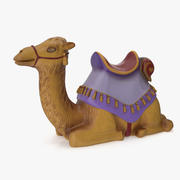 Figurine Camel 3d model