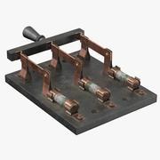 Stor knivomkopplare - Mad Scientist 3d model