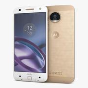 Motorola Moto Z Gold 3d model