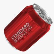237ml 8oz標準飲料缶 3d model