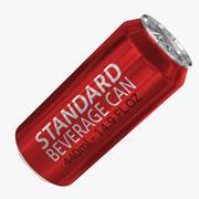 440ml 14.9oz標準飲料缶 3d model