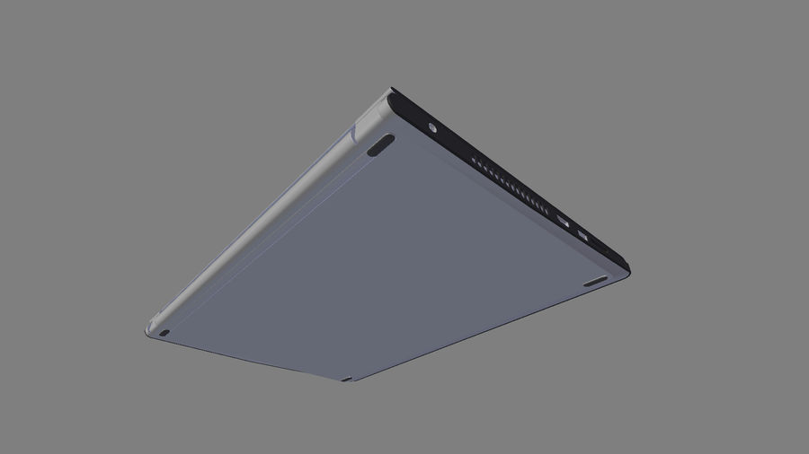 Dell Inspiron 3552 royalty-free 3d model - Preview no. 13