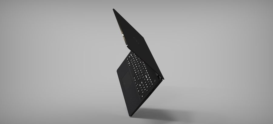 Dell Inspiron 3552 royalty-free 3d model - Preview no. 5