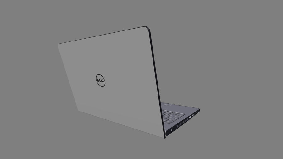 Dell Inspiron 3552 royalty-free 3d model - Preview no. 9