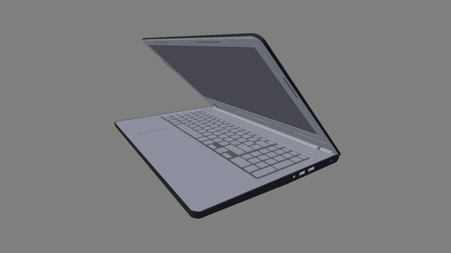 Dell Inspiron 3552 royalty-free 3d model - Preview no. 15
