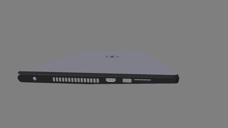 Dell Inspiron 3552 royalty-free 3d model - Preview no. 12