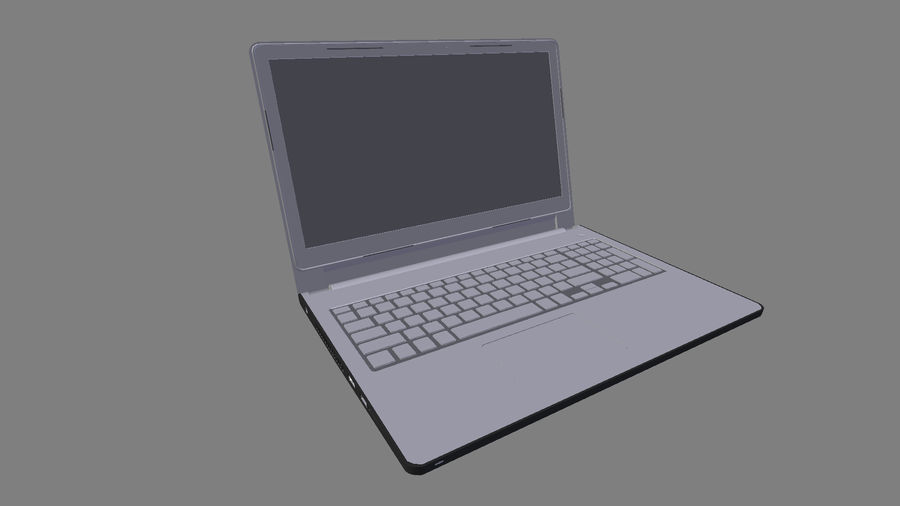 Dell Inspiron 3552 royalty-free 3d model - Preview no. 8