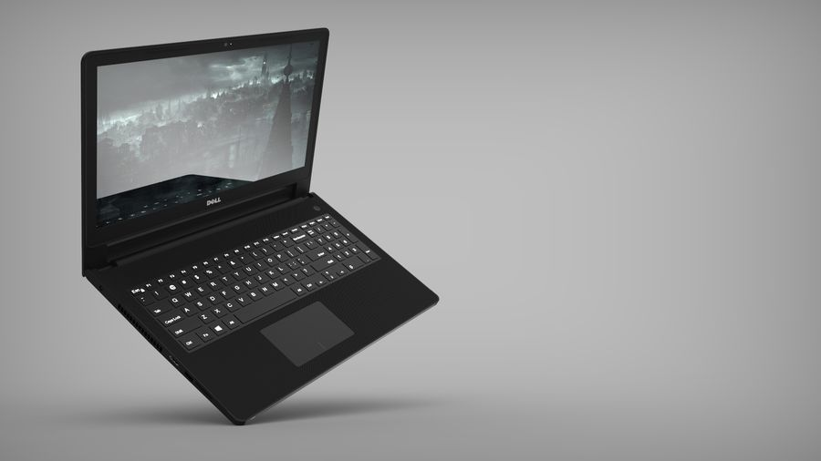 Dell Inspiron 3552 royalty-free 3d model - Preview no. 7