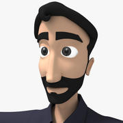 Father Character 3d model