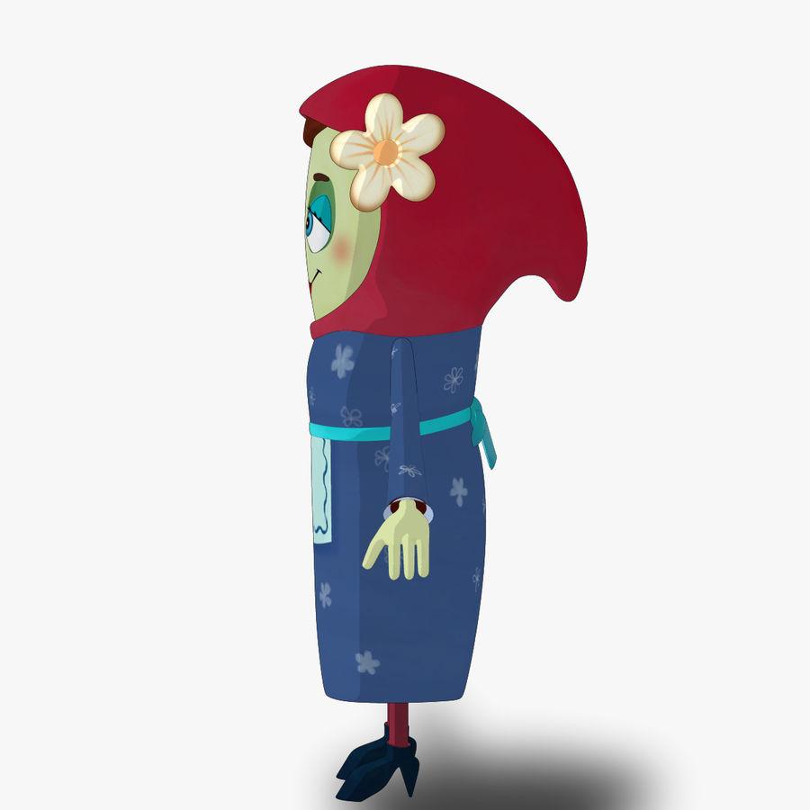 Низкополигональный персонаж без мамы royalty-free 3d model - Preview no. 11