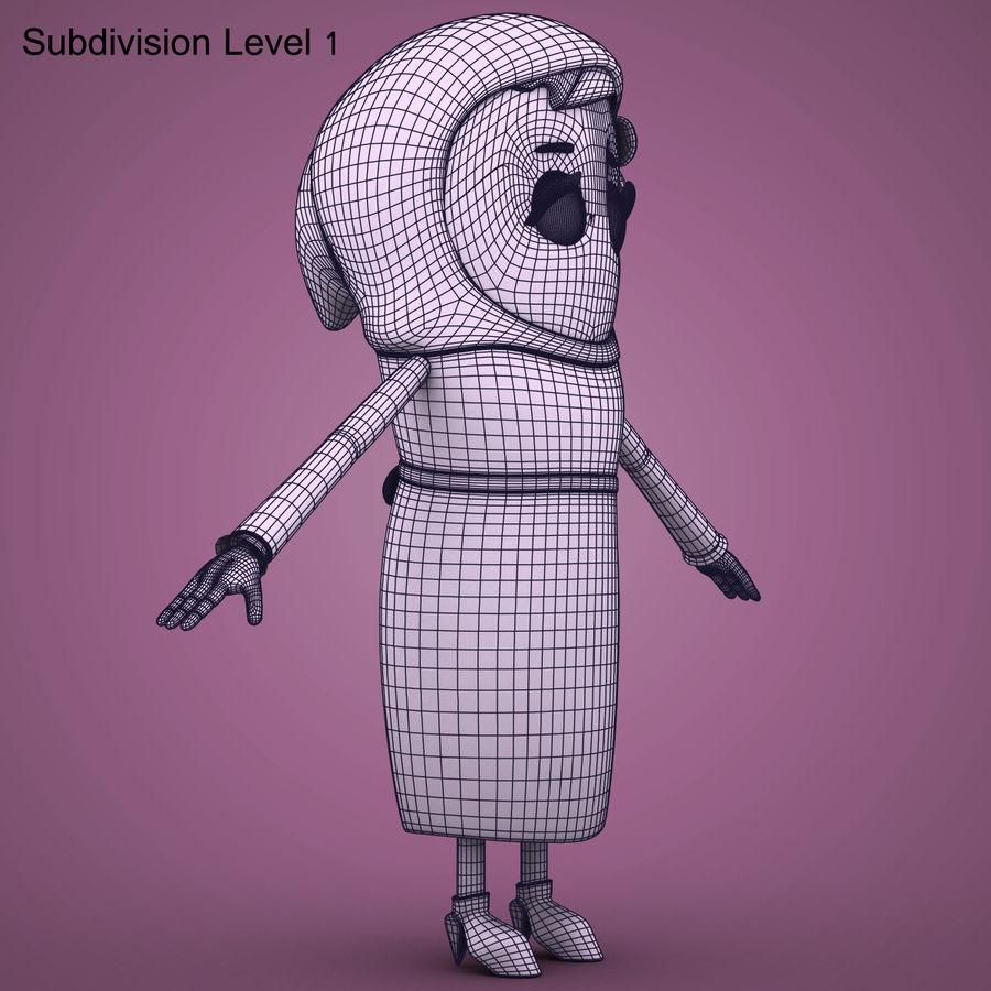 Низкополигональный персонаж без мамы royalty-free 3d model - Preview no. 16