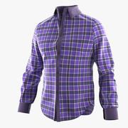 Plaid Shirt 3d model