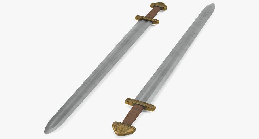 Viking Sword Set 3D Model royalty-free 3d model - Preview no. 12