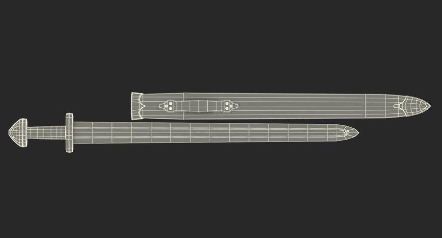 Viking Sword Set 3D Model royalty-free 3d model - Preview no. 22