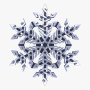 Celtic Snowflake 3d model