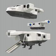 救援太空船(1) 3d model