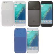 Google Pixel Todo color modelo 3d