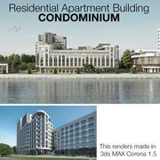 Apartamento Residencial Condominio modelo 3d