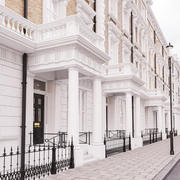 Regency Terrace Houses 3d model