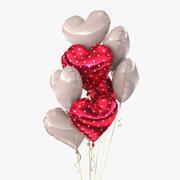 Bouquet de ballons (3) 3d model