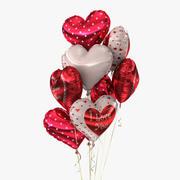 Bouquet de ballons (2) 3d model