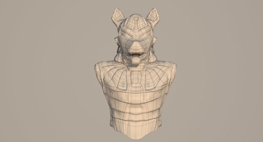 Düşük Poli Köpek Kafası royalty-free 3d model - Preview no. 16