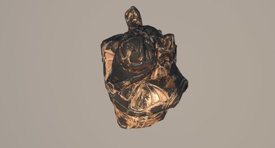 Düşük Poli Köpek Kafası royalty-free 3d model - Preview no. 9