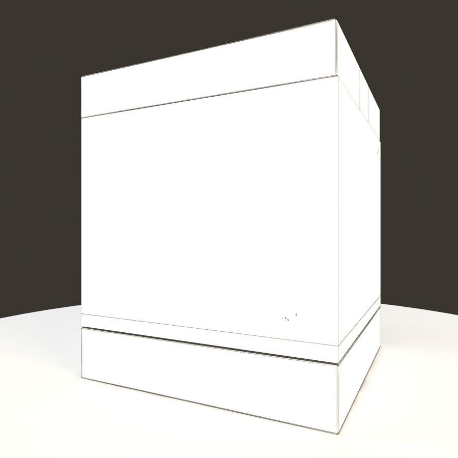 Naturalne akwarium royalty-free 3d model - Preview no. 9