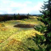 开挖环境景观 3d model
