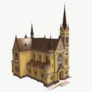 성당 대표성 3d model