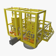 Subsea Booster Station 3d model