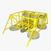 Subsea Compression Station 3d model
