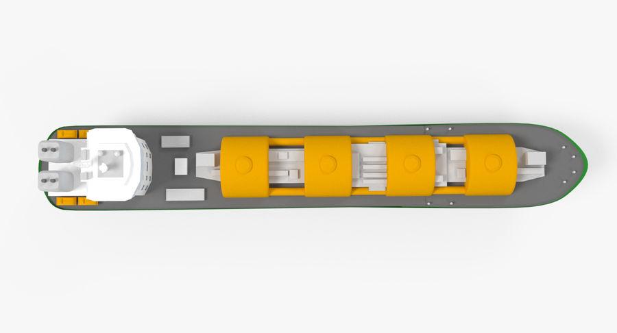 Autocisterna per GNL 2 royalty-free 3d model - Preview no. 8