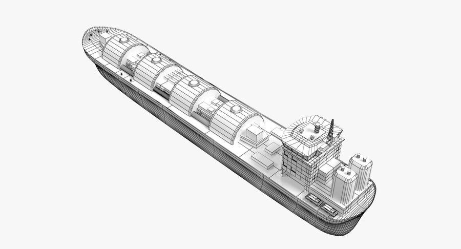 Autocisterna per GNL 2 royalty-free 3d model - Preview no. 10