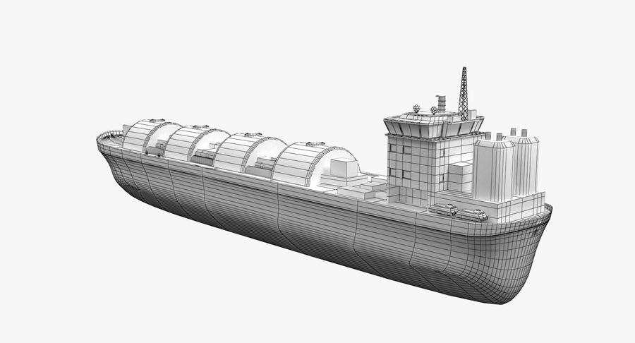 Autocisterna per GNL 2 royalty-free 3d model - Preview no. 9