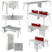 Coleção U Too Office Desk 3d model