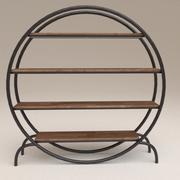 円形棚 3d model